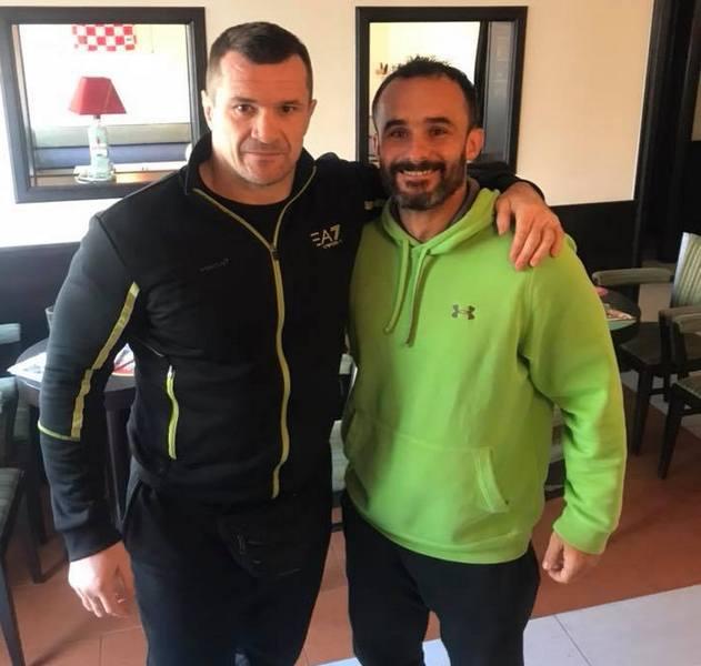 CRO COP Mirko Filipović i Marino Bašić