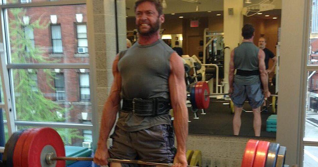 Hugh on regular heavy deadlift